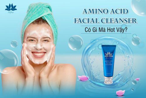 Amino Acid Facial Cleanser - 100g là dòng mỹ phẩm cao cấp được rất nhiều chị em yêu thích