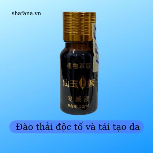 Đào thải độc tố và tái tạo da Shafana