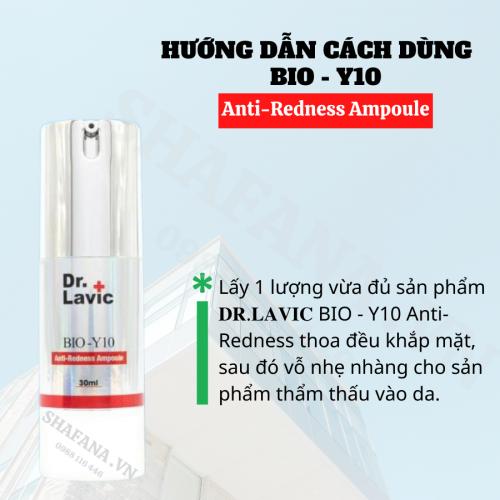 BIO-Y10 Anti-Redness Ampoule giúp làn da được phục hồi nhanh chóng