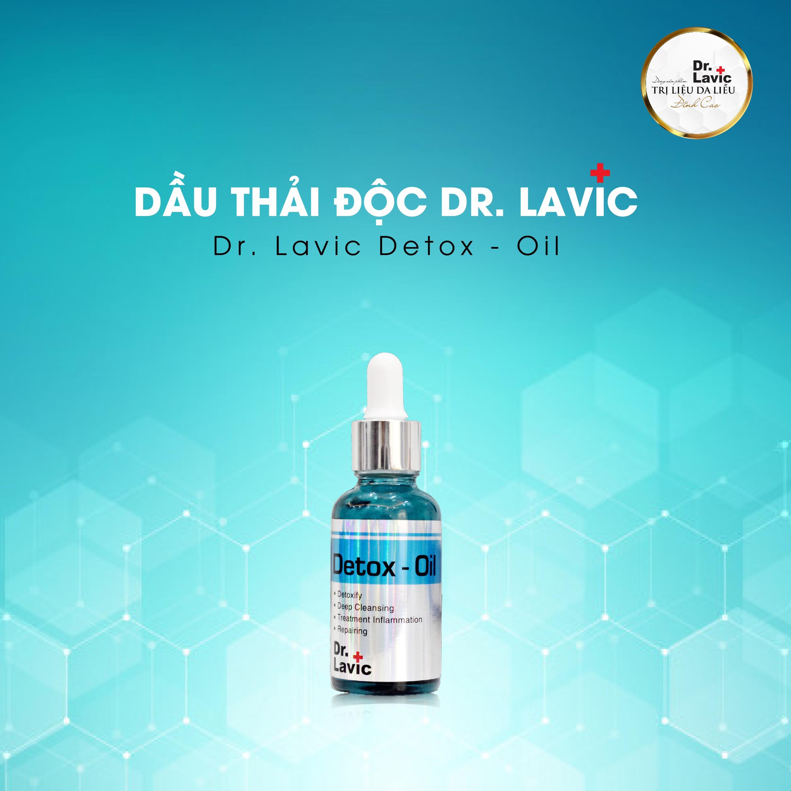 Dầu thải độc Dr Lavic - Dr.Lacvic Detox Oil