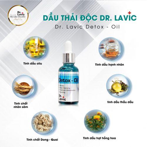 dầu thải độc dr.lavic