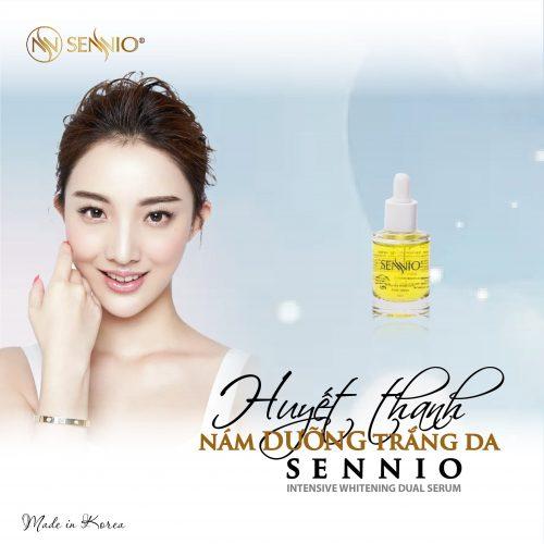 Sennio Intensive Whitening Dual Serum 1 min