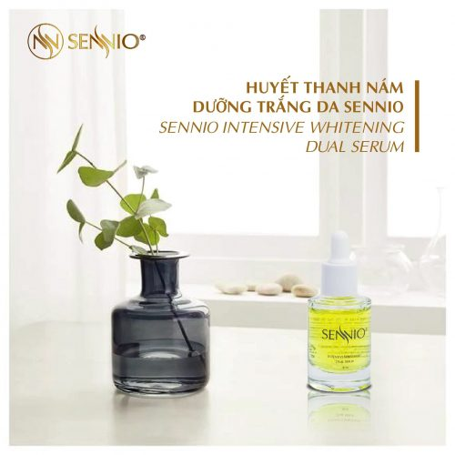 Sennio Intensive Whitening Dual Serum 2 min
