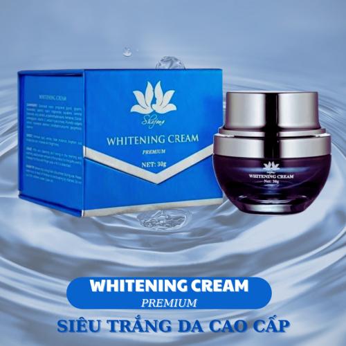 Kem trắng da cao cấp Shafana Whitening Cream Premium là một trong những sản phẩm là có thành phần làm trắng da độc quyền từ Thuỵ Sỹ