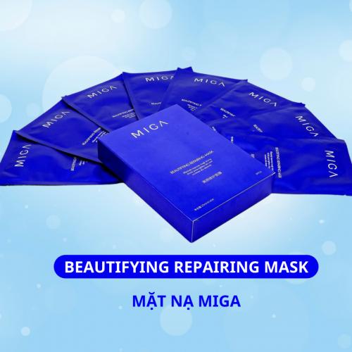 Mặt nạ Miga - Miga Beautifying Repairing Mask là sản phẩm mặt nạ đặc biệt chiết suất từ thiên nhiên Yến Mạch,Lô Hội