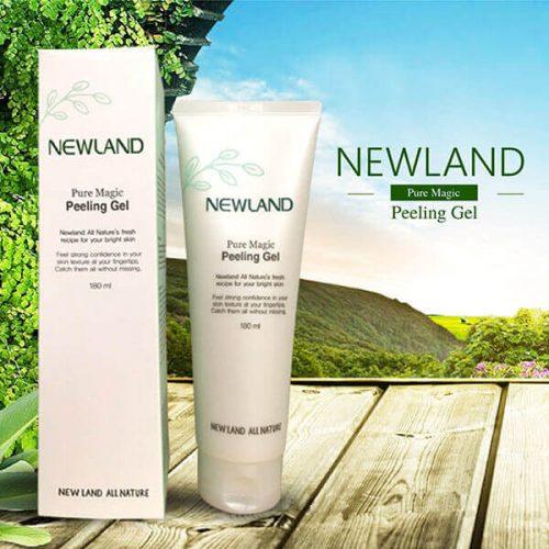 Newland Pure Magic Peeling Gel – Gel Tẩy Tế Bào Chết Newland kích thích tăng sinh collagen, tái tạo tế bào mới, trẻ hóa làn da